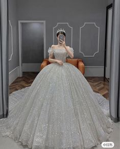Pretty Quinceanera Dresses, Pretty Prom Dresses, Cute Dresses, Dresses Dresses, Princess Ball Gowns, Princess Wedding Dresses, Dream Wedding Dresses, Fantasy Gowns, Fairytale Dress