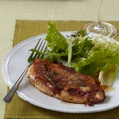 quick chicken: Lidia Bastianich's chicken saltimbocca is a quick, streamlined recipe for busy cooks. It's simply seared chicken breasts with prosciutto in a white wine sauce. Lidia's Recipes, Turkey Recipes, Wine Recipes, Italian Recipes, Cooking Recipes, Quail Recipes, Italian Cookbook, Italian Foods, Turkey Dishes