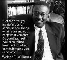 Whites Only: Dr. Walter Williams Offers Pardon and Amnesty for Your Privilege and Guilt
