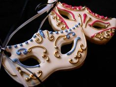 Mascarade Ball cookies | Flickr - Photo Sharing!