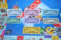 Monopoly Paper Money M&M Candy Themed by FloridaFinders on Etsy, $3.00