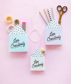 Live Creatively Box Print | FREE PRINTABLE BY DESIGN IS YAY for your creative…