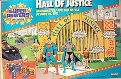 Super Powers action figures by Kenner
