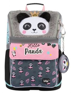 Školní aktovka Zippy Panda   BAAGL.CZ Panda, Lunch Box, Bento Box, Pandas, Panda Bear