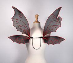 Fairy Wings - Gothic Black Bat