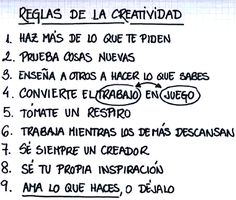 〽️ Reglas de Creatividad... Family Rules, How To Start A Blog, Beautiful Words, Wise Words, Things To Think About, Leadership, Coaching, Marketing, How To Plan