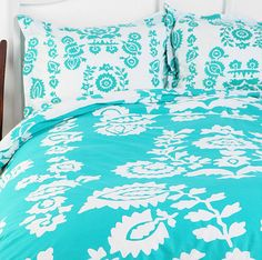 Bedding Envy: Turquoise