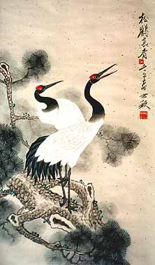 1000+ images about cranes... on Pinterest | Ohara koson ... - photo#37