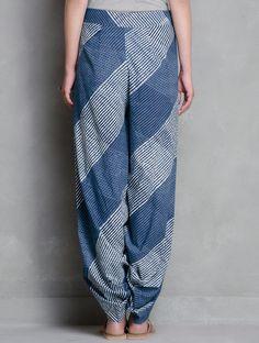 Natural Indigo cotton dhoti pants