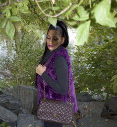 I love #fur! I'll admit, I am a master of my personal style! ! #phoenixstyle  http://www.phoenixraine411.com/6xtlw6x3jv0q01947f9fwk8puel3lo/2016/10/26/faux-fur-vest-chanel-handbag