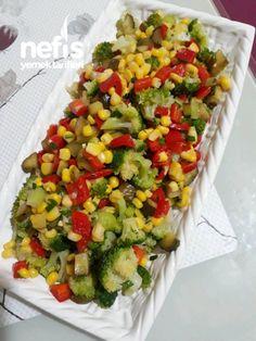 Broccoli Salad - Angelina Lopez Home Healthy Salad Recipes, Snack Recipes, Pasta Salad, Cobb Salad, Turkish Recipes, Ethnic Recipes, Pizza Bites, Broccoli Salad, Middle Eastern Recipes