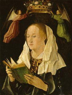 ANTONELLO DA MESSINA (1430 - 1479)   Madonna leggente