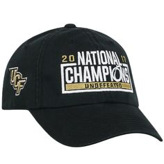 c8067147112c60 UCF Knights Top of the World 2017 National Champions Crew Adjustable Hat –  Black