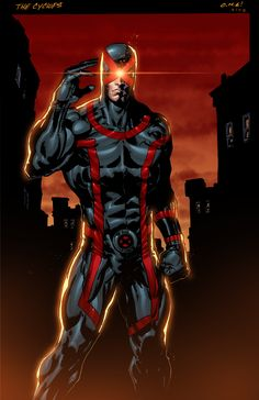X-Men: Cyclops by Mario Gully & King Bola Marvel Cyclops, Ms Marvel, Marvel Comics Art, Marvel Heroes, Cosmic Comics, Mundo Marvel, Marvel Comic Character, Comic Book Characters, Comic Book Heroes