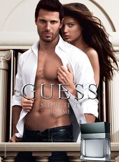 Guess Fragrance #Ad Campaign Seductive Homme