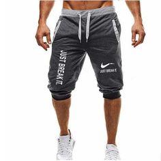 Mens Fashion I Love Sharks-3 Jogger Sweatpant Bodybuilding Gym Shorts