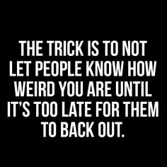 The trick is ...