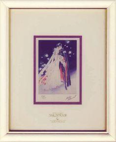 Sailor Moon Artbook Illustration Original NAOKO TAKEUCHI Autograph  #NaokoTakeuchi #SailorMoon