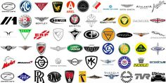 British car brands British Car Brands, Premium Cars, Gasoline Engine, Car Logos, Logo Maker, Automotive Industry, Rolls Royce, Aston Martin, Symbols
