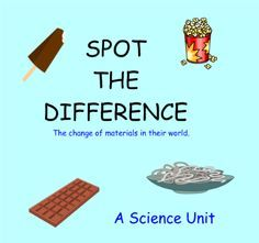 Spot the Difference - A Science Unit