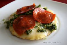 24/7 Low Carb Diner: Oh So Easy Mini Coconut Flour Pizzas