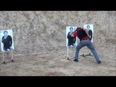 Using the Center Axis Relock System of firearms for close quarter threats, engaging 2 targets then switching hands and engaging another target while moving t. Self Defense Techniques, Tactical Survival, Training Day, Pistols, Emergency Preparedness, Drills, Firearms, Weapon, Target