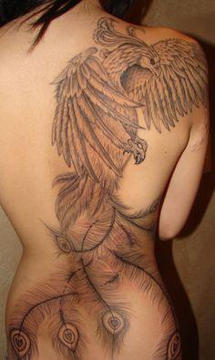 I really like the feminine face of the phoenix