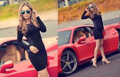 Panna Joanna People Around The World, Bodycon Dress, Sith, Chic, How To Wear, Outfits, Black, Dresses, Fashion