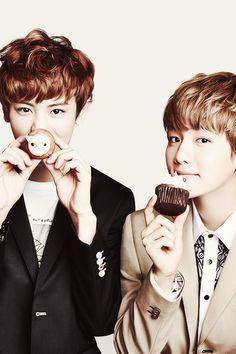 OH my gosh can you two NOT??? #Baekhyun #Chanyeol