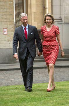 King Philippe and Queen Mathilde of Belgium