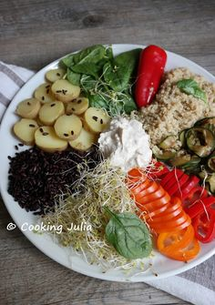 COOKING JULIA: VEGGIE PLATE AUX POMMES DE TERRE (BATTLE FOOD #42)