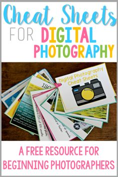 Digital Photography Tips for Beginners Do you have a new digital camera … or a camera that you always use in auto mode? If you'd like to learn some beginner tips for manual photography, get FREE cheat sheets to get you started as a beginner! Dslr Photography Tips, Photography Cheat Sheets, Mixed Media Photography, Photography Tips For Beginners, Photography Lessons, Photography Business, Photography Tutorials, Digital Photography, Amazing Photography