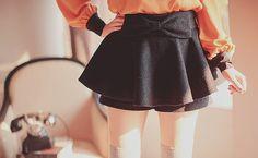 Japanese Fashion, Asian Fashion, Bow Skirt, Ulzzang Fashion, Kawaii Clothes, Kawaii Fashion, Asian Style, Fashion Outfits, Womens Fashion