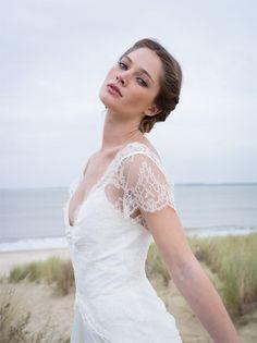 Les robes de mariée de Confidentiel Création | Modèle: Flore | Crédits: Lili Renée | Donne-moi ta main - Blog mariage