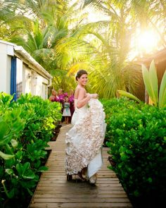 Some good ideas from a real wedding in the Bahamas