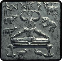 The earliest archaeological evidence of Yoga's existence could be found in stone seals which depict figures of Yoga Poses. The stone seals place Yoga's existence around 3000 B.C.