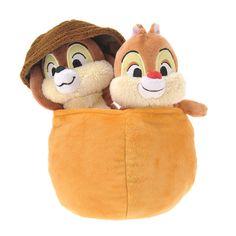 10.59 Plush Toy NEW LIFE chip & Dale ( Acorn ) (japan)