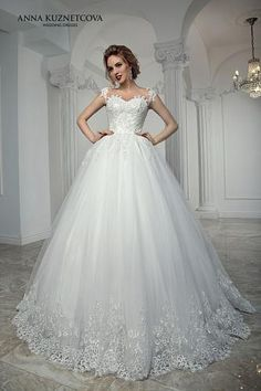 Wedding Dress Lace, Charming Tulle Sheer Jewel Neckline Ball Gown Wedding Dress With Beaded Lace Appliques, Unique and inexpensive wedding gowns that wow! Shop our wedding dresses online and in-store for top styles and trendy bridal looks. Bridal Party Dresses, Sexy Wedding Dresses, Gorgeous Wedding Dress, Beautiful Gowns, Bridal Gowns, Wedding Gowns, Special Dresses, Istanbul, Marie