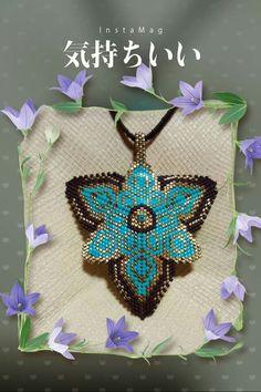 Beading Patterns Free, Peyote Patterns, Loom Patterns, Beading Tutorials, Seed Bead Necklace, Beaded Earrings, Seed Beads, Beaded Jewelry, Beaded Bracelets