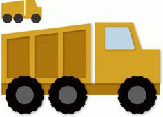 Silhouette Design Store - View Design #59769: dump truck