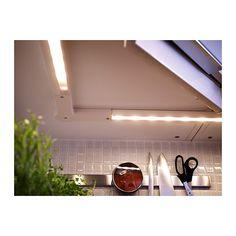 RATIONELL Oświetlenie blatu LED IKEA Oświetlenie LED zużywa do 85% mniej energii i starcza na 20 razy dłużej niż tradycyjne żarówki.