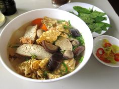 Vegetarian Pho from Pho 2000, Saigon #Vietnam