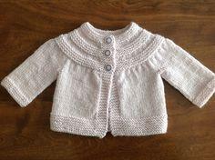 Ravelry: tatankagirl's Iced Violet February Baby Sweater