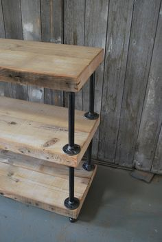Diy Console Table With Pipe Legs - WoodWorking Projects & Plans
