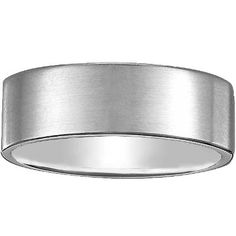 Brushed platinum wedding band. -Ganoosh will probably like THIS, most simple and basic and classic