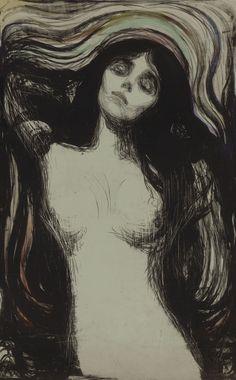 Madonna by Edvard Munch 1902