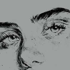 Beth ♡   Art Pencil Art Drawings, Art Drawings Sketches, Cool Drawings, Photographie Portrait Inspiration, Art Hoe, Art Sketchbook, Aesthetic Art, Art Inspo, Painting & Drawing