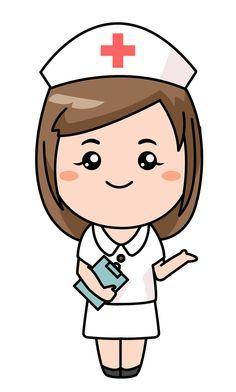 Image Result For Clipart Nurse Black And White Clip Art Infermiere Infermiera