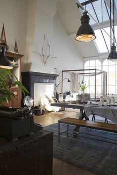 The Loft Amsterdam by Matthijs Borghgraef a.k.a. Kwikzilver #home #deco