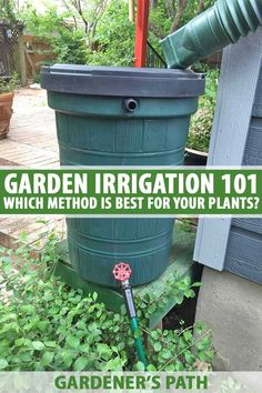 96 best irrigation watering plants images on pinterest in 2018 garden irrigation 101 ollas soaker hoses other methods solutioingenieria Image collections